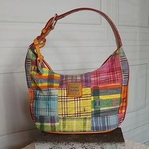 Dooney & Bourke Plaid with Ants Shoulder Bag